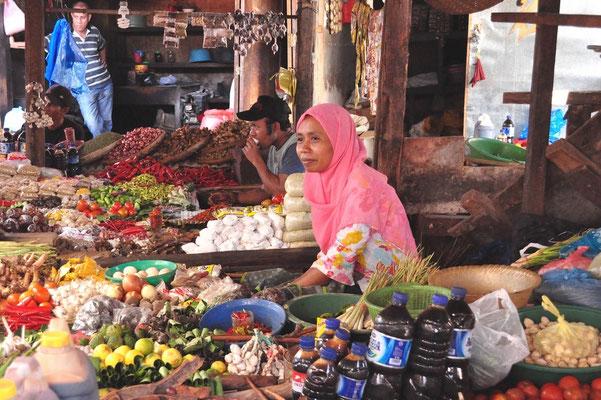 Marché Indonésie