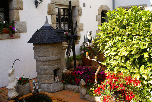 La Gacilly: jardin miniature