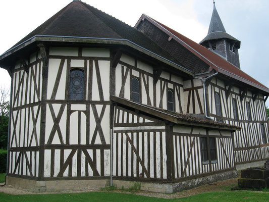 Eglise en bois du Der (Aube)