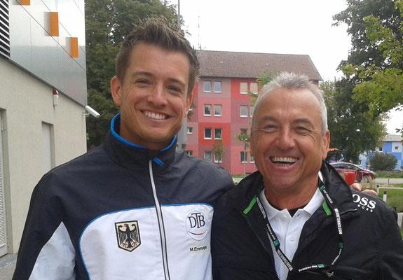 mit Martin Emmrich Weltrangliste 35 im Doppel