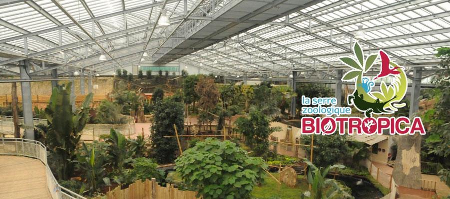 Biotropica, dans le parc des loisirs de Lery-Poses à 15 min