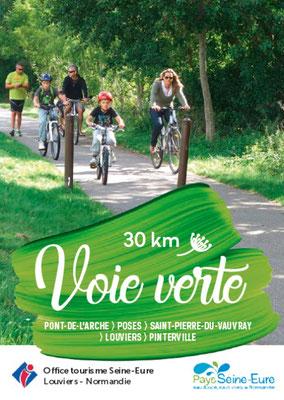 Voie verte Louviers-Parc des loisirs de Léry-Poses