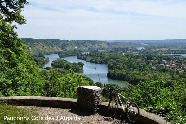 Panorama exceptionnel sur la Seine au barrage de Poses, à 20 min