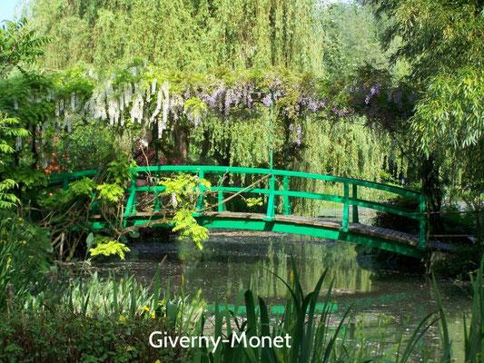 Maison du peintre Claude Monet à Giverny près de Vernon