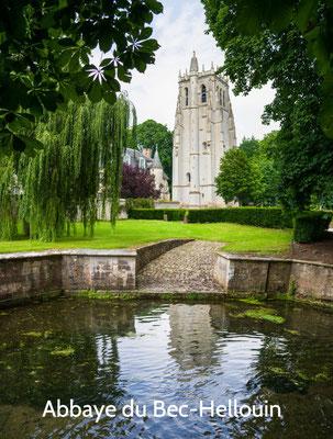 Abbaye du Bec Hellouin à 50 min, le long de la voie verte Evreux-Pont Authou