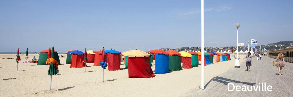 Deauville, le Paris plage à 1h du gîte