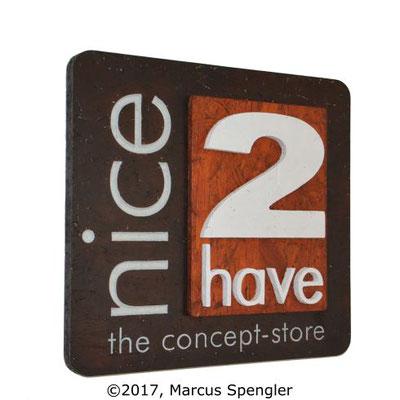 nice2have-Firmenschild