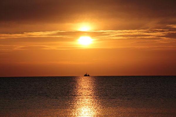 Sonnenuntergang Dranske
