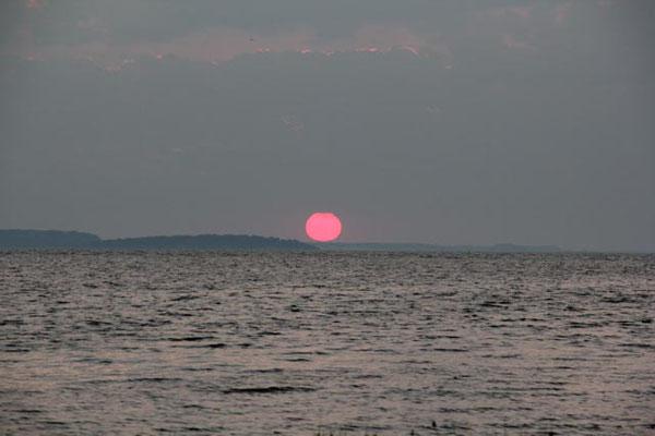 Sonnenaufgang Schoritzer Wiek