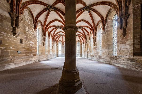 Kloster Maulbronn: das Herrenrefektorium
