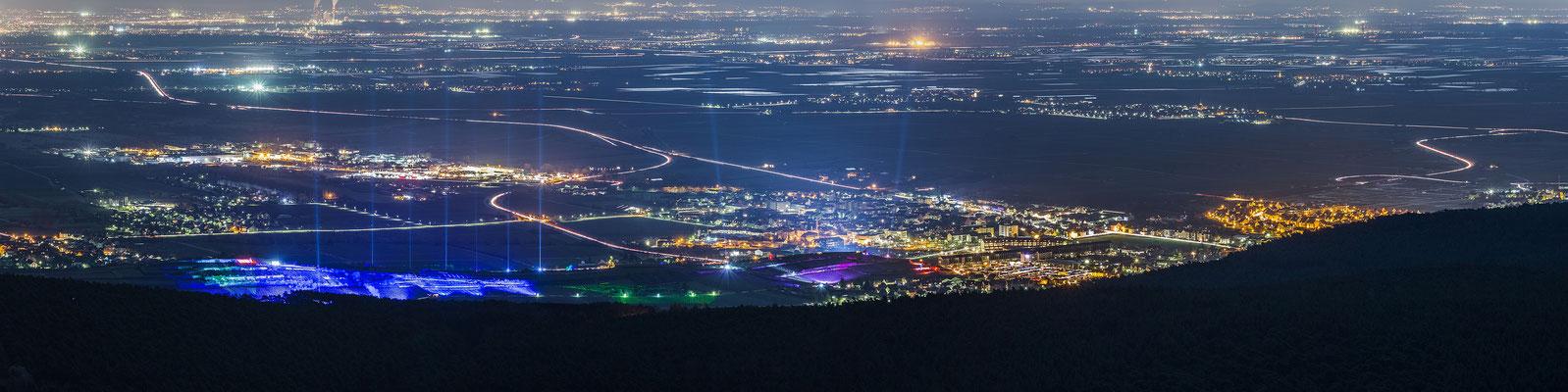 Beleuchtung zur Weinbergnacht