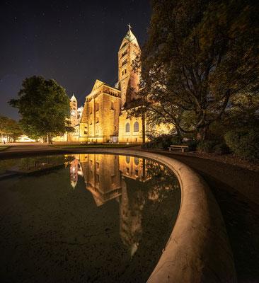 Nachts am Speyerer Dom