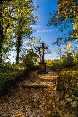 Wegekreuz an der kleinen Kalmit