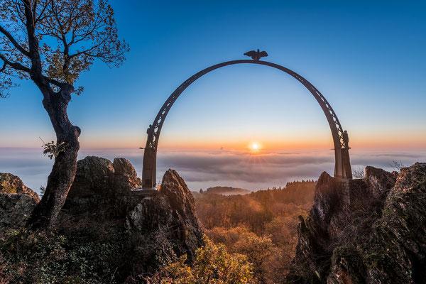 Morgennebel am Adlerbogen