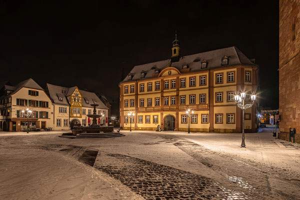 Winternacht in Neustadt