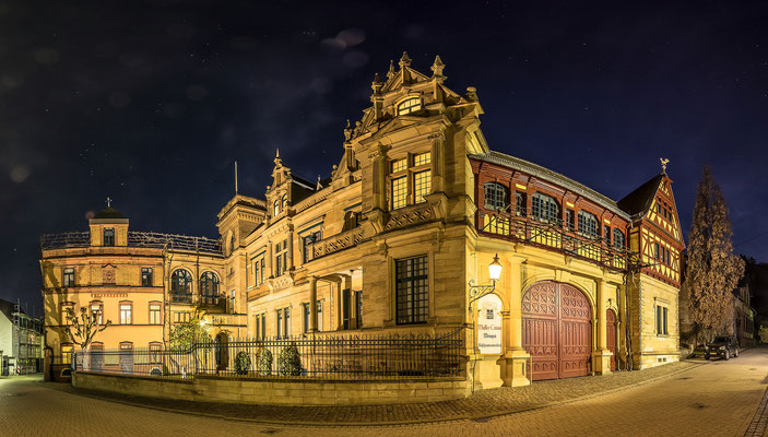 Weingut Müller-Catoir in der Blauen Stunde