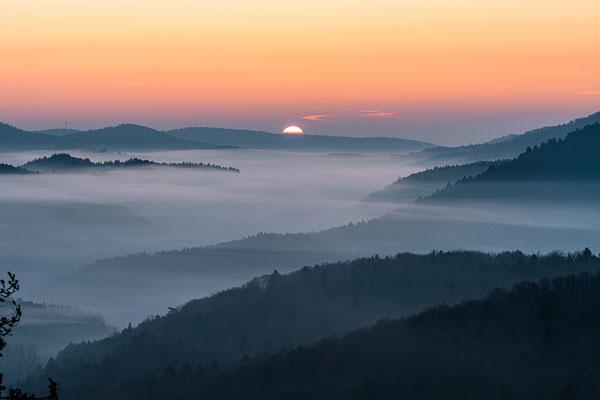 Sonnenaufgang auf dem Schlüsselfels