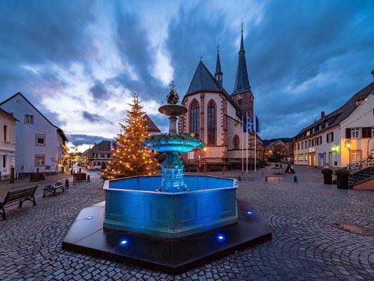 Weihnachtsbeleuchtung in Deidesheim