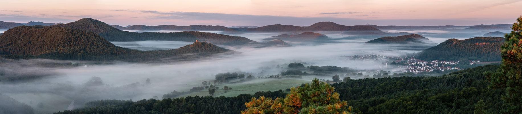 Herbstmorgen auf dem Buhlsteinpeiler