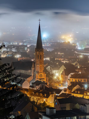 Nebelnacht über Neustadt