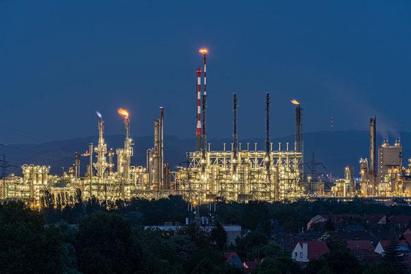 Blaue Stunde an der BASF