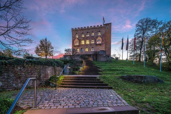 Abenstimmung am Hambacher Schloss