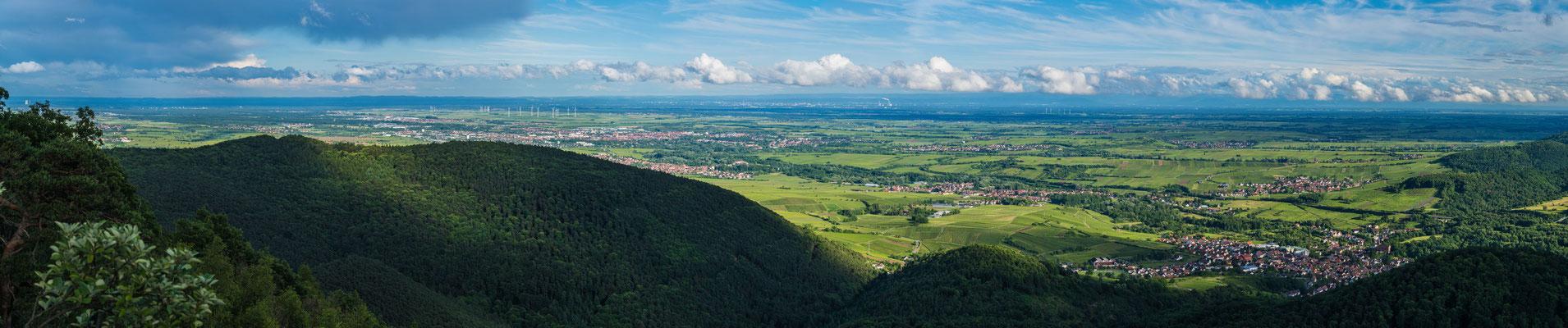 Rheinebene und Schwarzwald