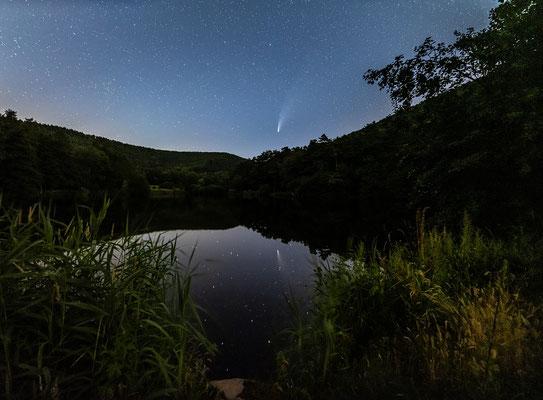 Komet Neowise bei Sankt Martin