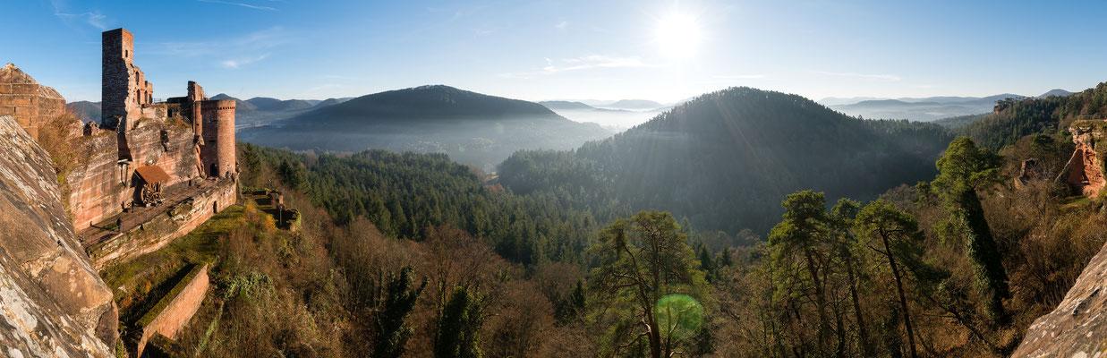 Aussicht von der Burg Altdahn