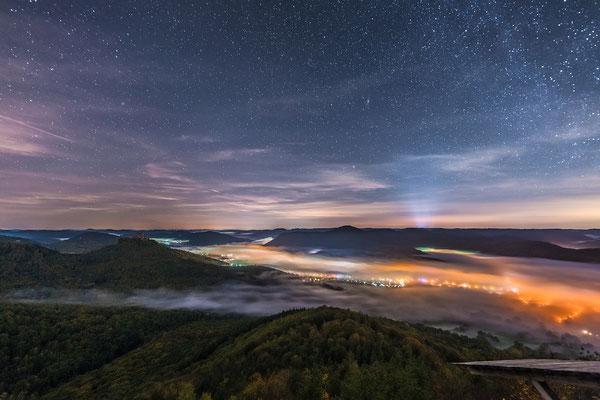 Nacht am Hohenberg ....