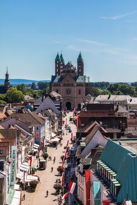 Blick vom Altpörtel auf den Speyerer Dom