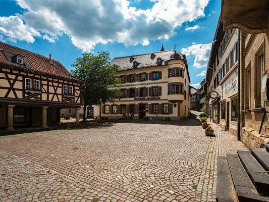 Marktplatz von Meisenheim