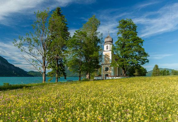 Kirche St. Margareth am Walchensee