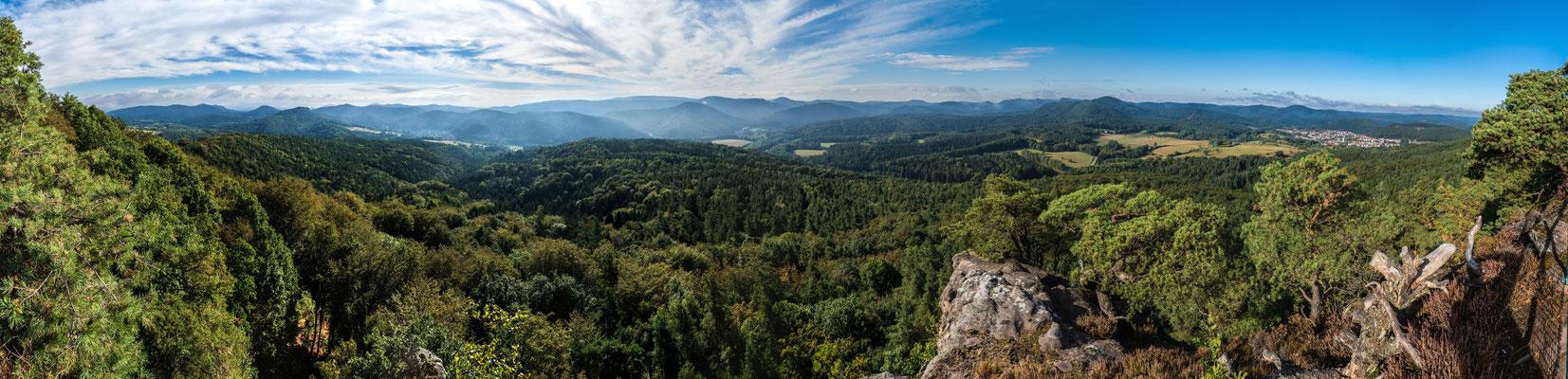 Aussicht vom Buhlsteinpfeiler