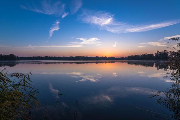 Sonnenaufgang am Lambsheimer Weiher