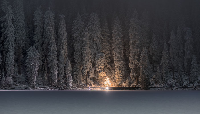 Winterstimmung am Mummelsee