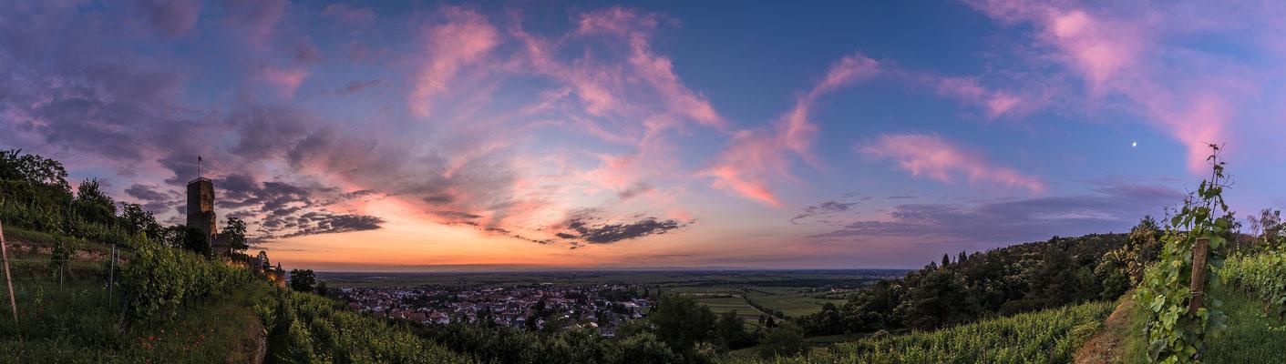Morgendämmerung auf der Wachtenburg