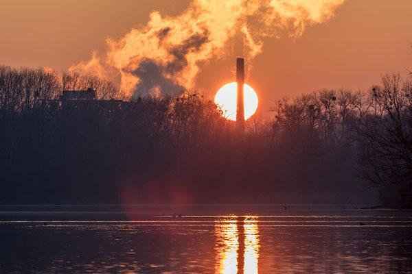 Die Sonne geht auf ...