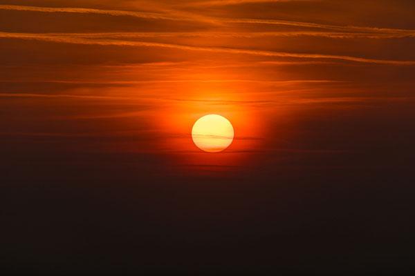 Sonnenuntergang am Turmberg