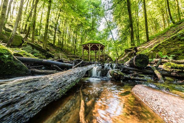Sommertag in der Karlstalschlucht
