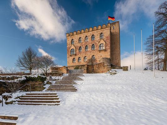 Winter auf dem Hambacher Schloss