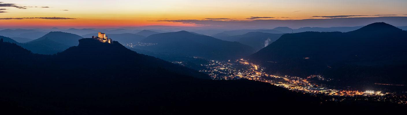 Blaue Stunde am Hohenberg