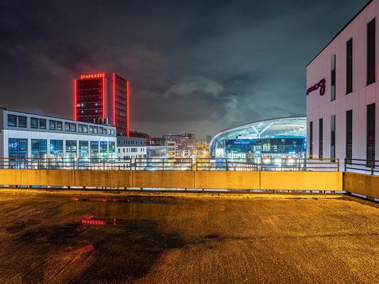 Ludwigshafen bei Nacht