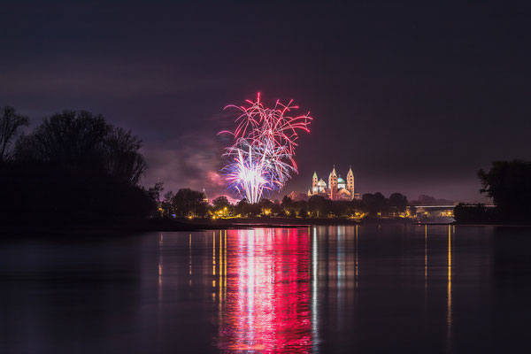 Feuerwerk Herbstmesse in Speyer