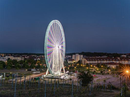 """Riesenrad """"City-Star"""" zu Besuch in Bad Dürkheim"""