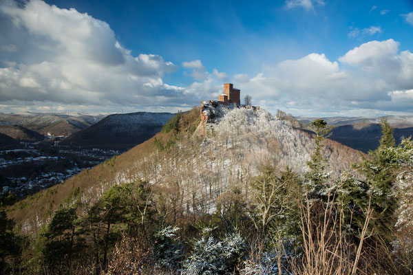 Winterstimmung am Trifels