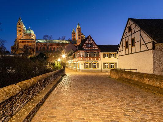 Blaue Stunde in Speyer