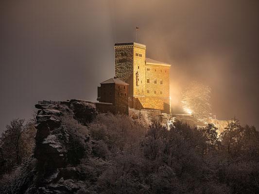 Winterstimmung am Trifels