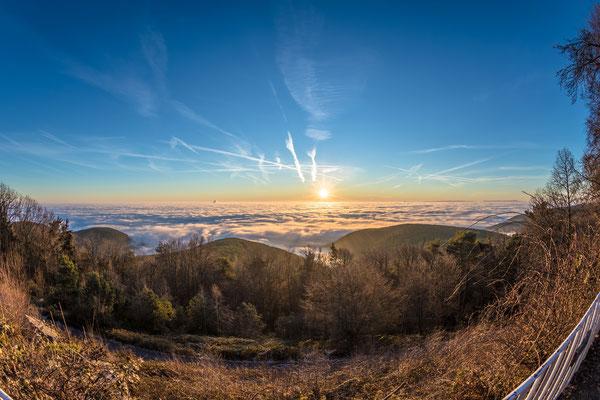 Sonnenaufgang an der Kalmit