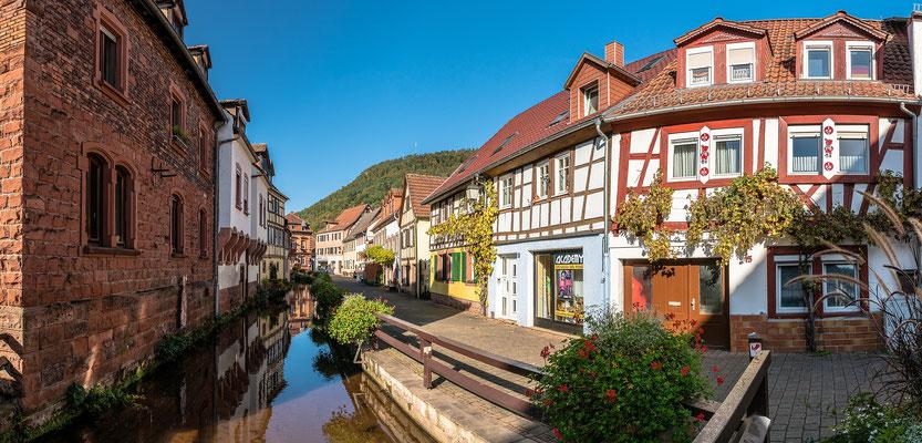 In der Altstadt von Annweiler